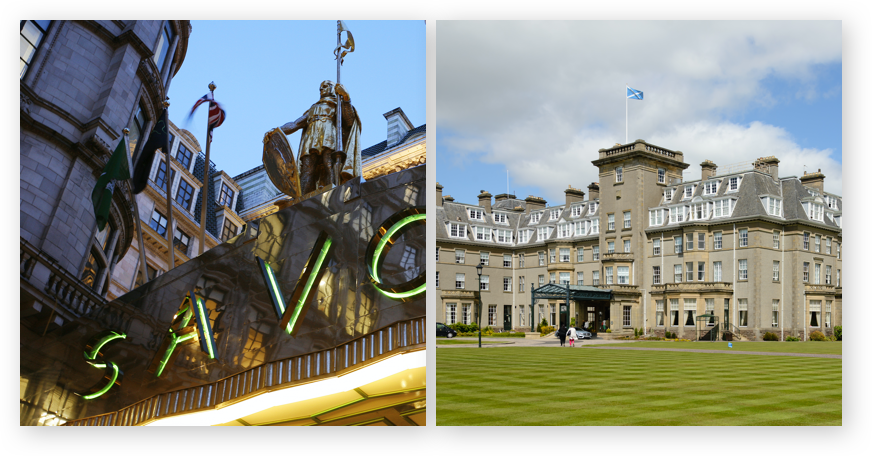 The Savoy and Glenneagles